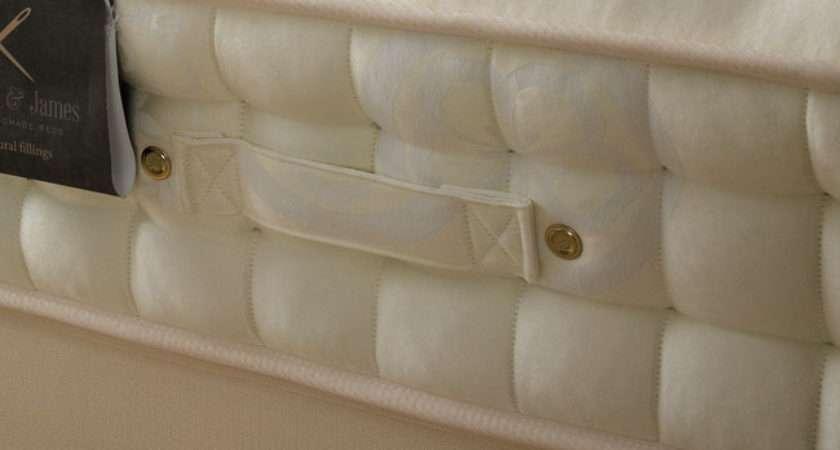 Memory Foam Pocket Sprung Mattress King English Bed Company