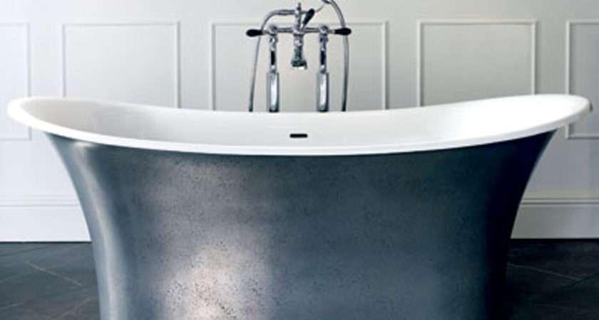 Metallic Toulouse Bathtub Via Essential Kitchen Bathroom Business