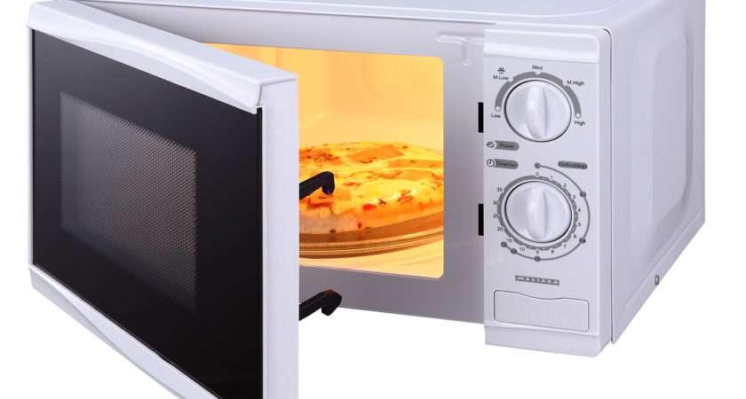 Microw Oven Mechanical White Watt