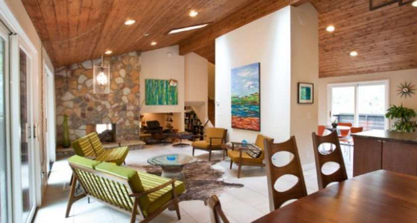 Mid Century Modern Living Room Design Ideas Style