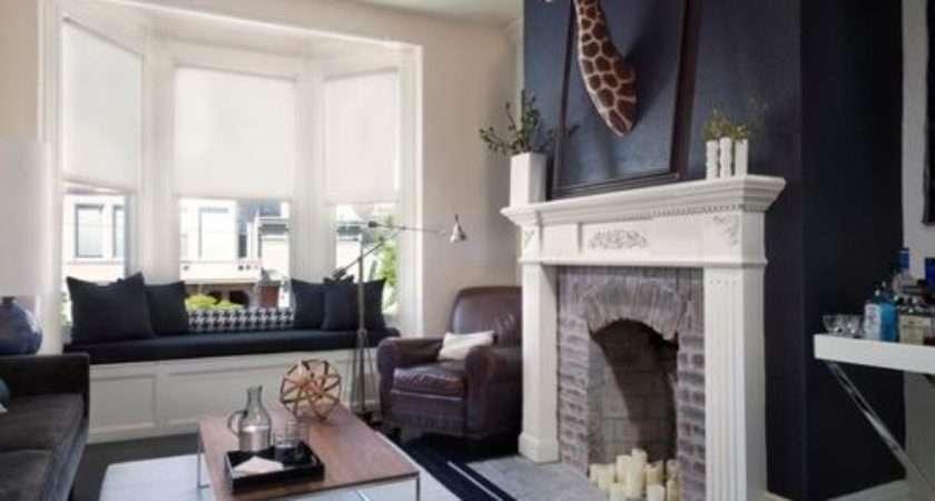 Midnight Blue Home Design Ideas Renovations Photos