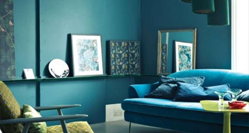 Midnight Blue Living Room Decorating Ideas