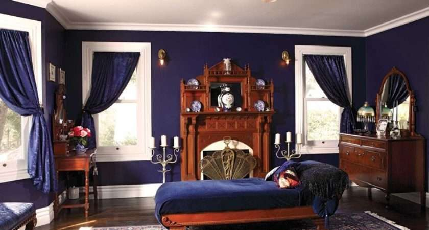 Midnight Blue Master Bedroom Perfect Setting