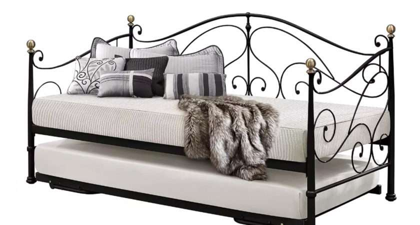 Milano Metal Day Bed Trundle Next Delivery