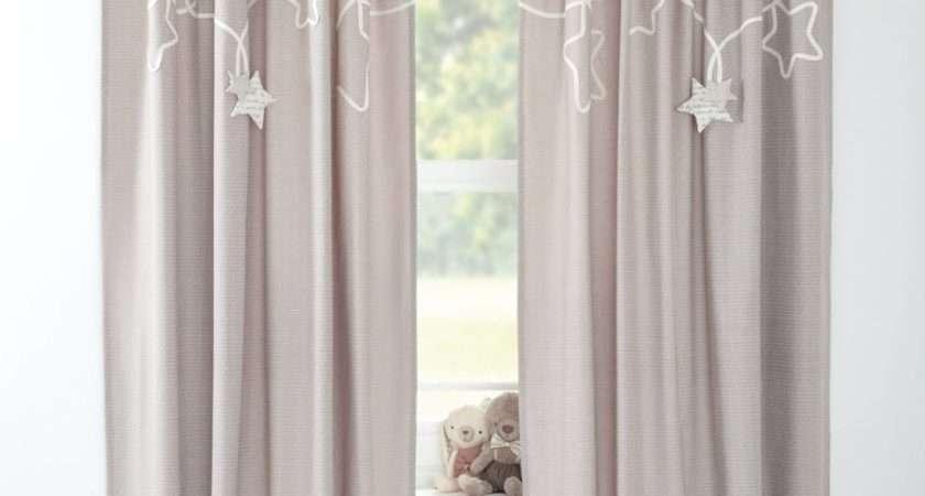 Millie Boris Lined Tie Top Curtains Bedroom Mamas