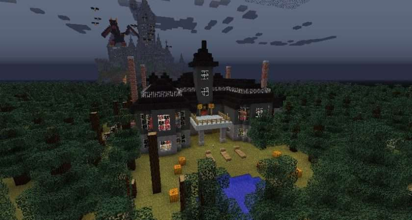 Minecraft Haunted Mansion Project