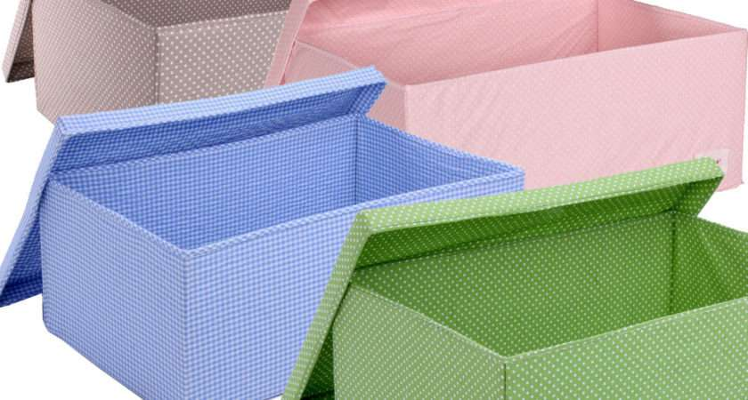 Minene Underbed Storage Boxes Collapsible Fabric