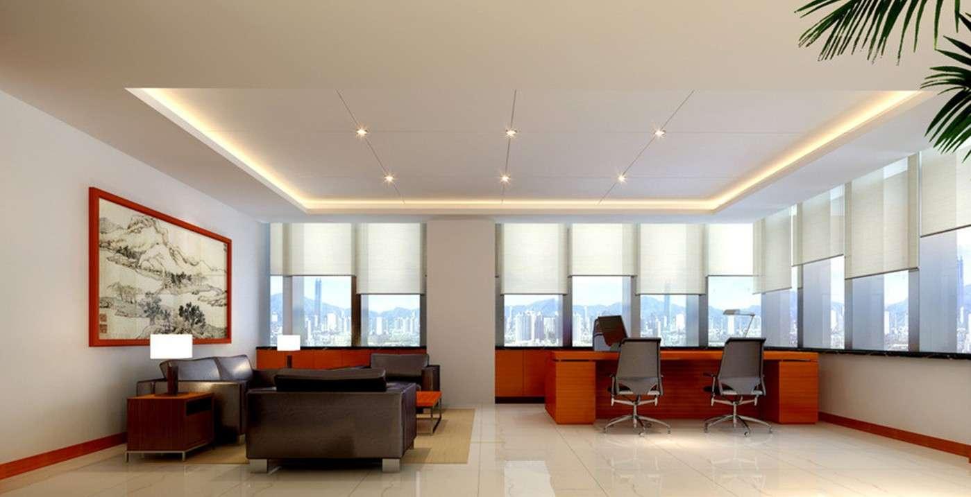 Minimalist Ceo Office Interior Design Living Room