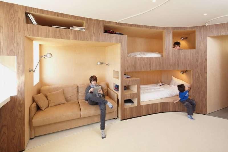 Minimalist Interior Design Small Apartment Many Rooms