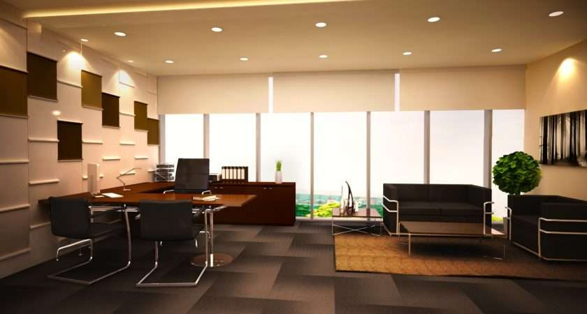 Minimalist Office Designs Decorating Ideas Design