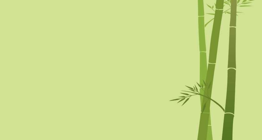 Minimalistic Bamboo