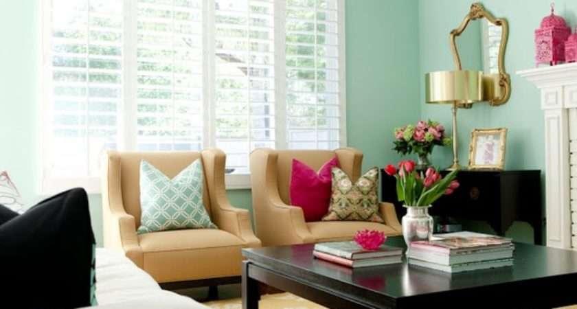 Mint Green Living Room Ann Written Notes