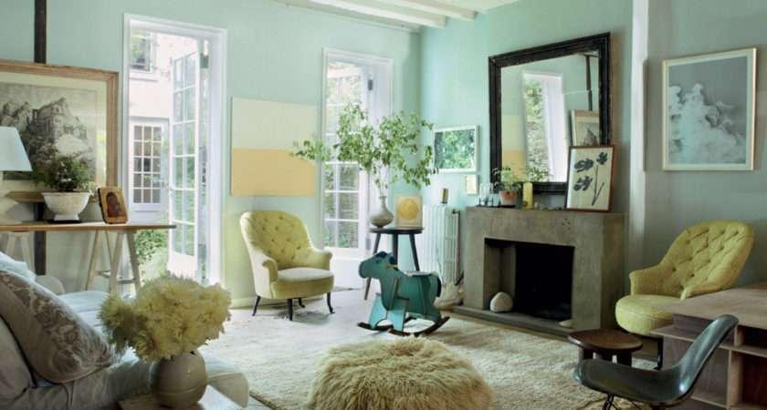 Mint Green Living Room
