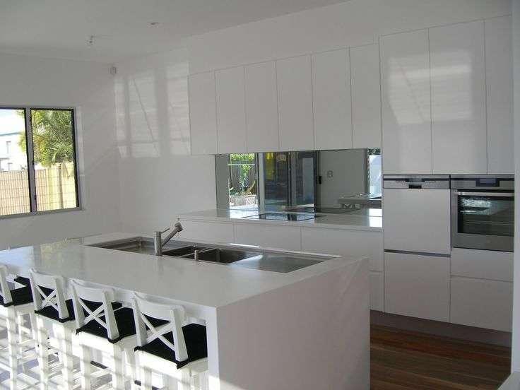 Mirror Splashback Kitchen Ideas Pinterest