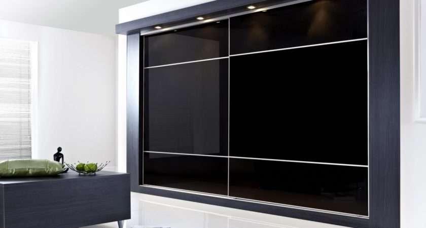 Mirrored Wall Cabinets Sliding Doors Bedroom
