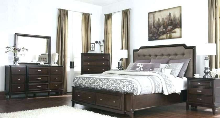 Mixing White Dark Wood Furniture Bedroom Koszi Club