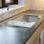 Mobile Kitchen Worktop Cutting Mitering