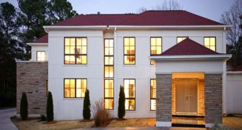 Modern American House Plans Colors Plan