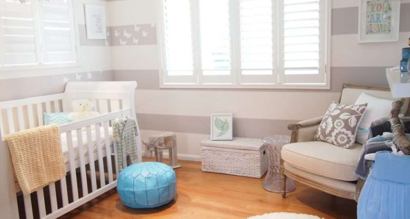 Modern Baby Nurseries Amazing Stripped Lots Ideas