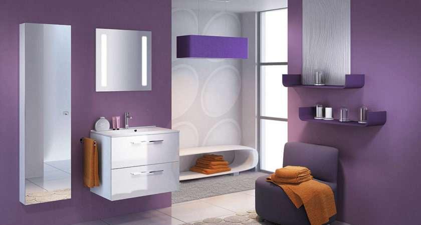 Modern Bathroom Design Ideas Small Spaces Purple