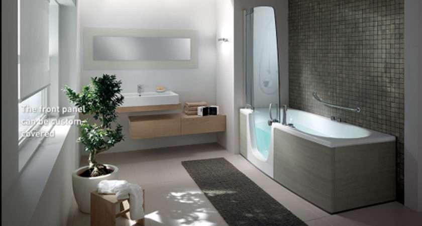 Modern Bathroom Interior Landscape Iroonie