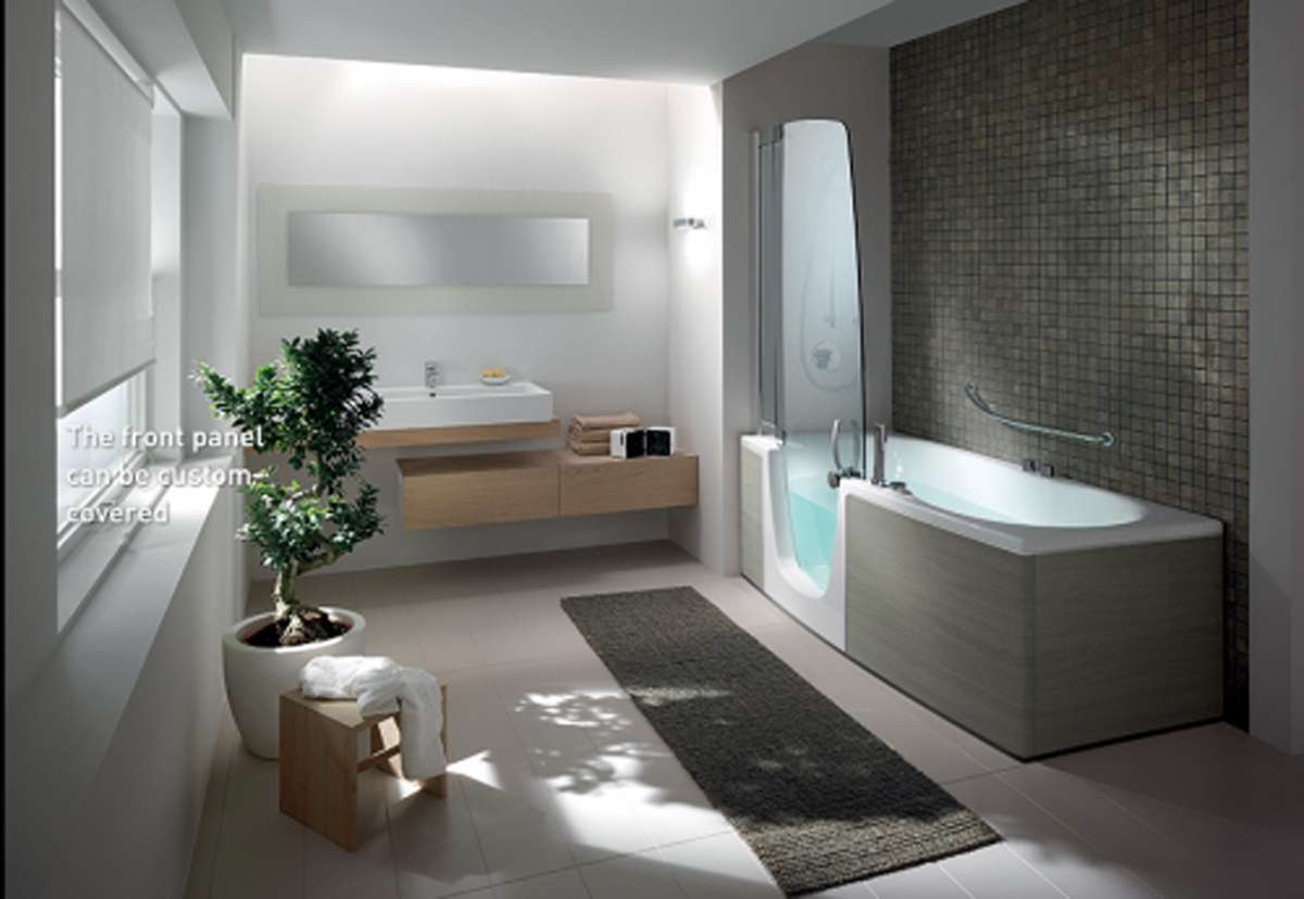 Modern Bathroom Interior Landscape One Total Outstanding