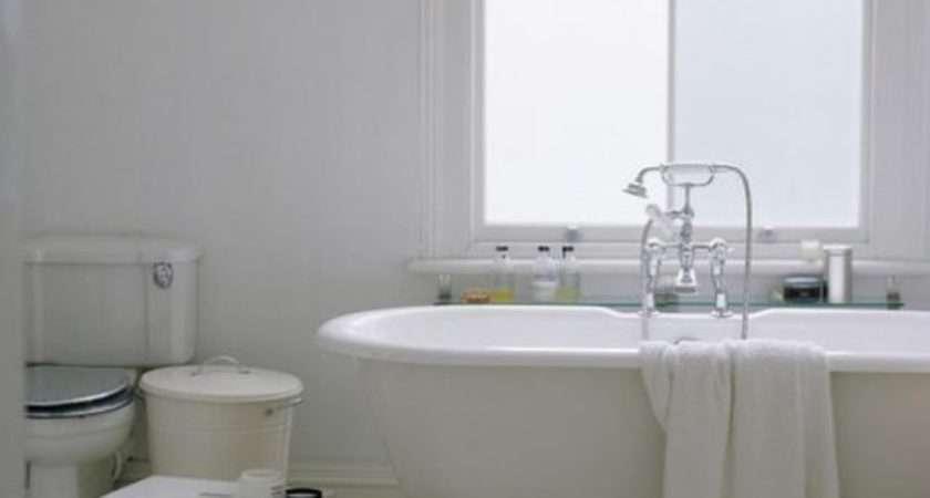 Modern Bathroom Roll Top Bath Housetohome
