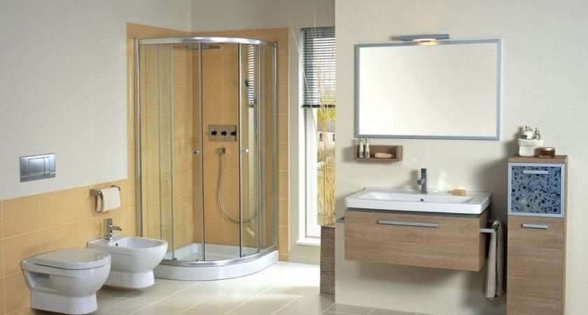 Modern Bathroom Suites Example Industry Standard Design