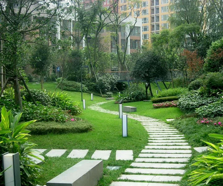 Modern Beautiful Home Gardens Designs Ideas New