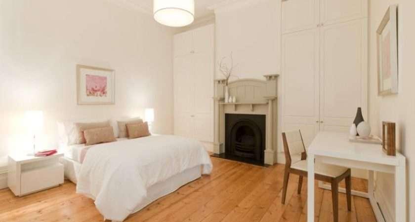 Modern Bedroom Design Idea Floorboards Built Wardrobe Using