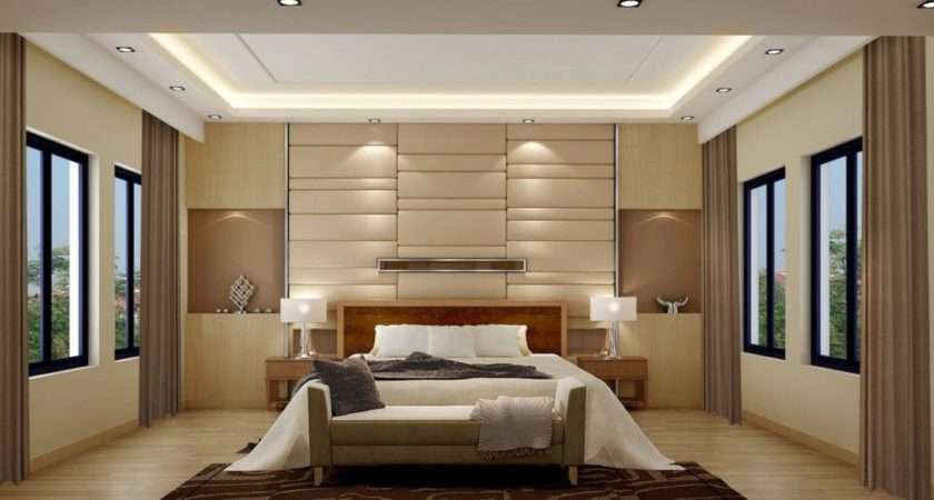 Modern Bedroom Main Wall Design Ideas House