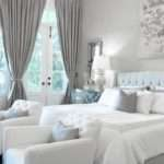 Modern Bedrooms Black White Shading Red Touch