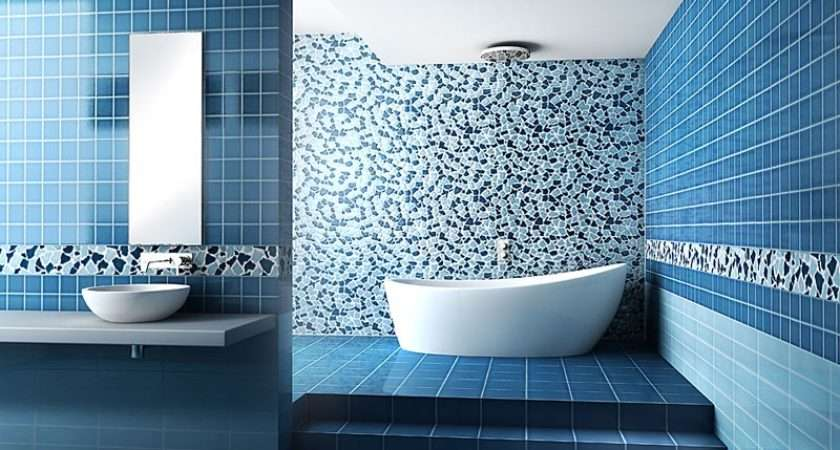 Modern Blue Bathroom Ideas Decozilla