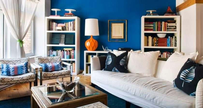 Modern Blue Interior Designs Living Room Car