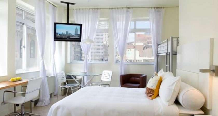 Modern Chic Bedroom Interior Design Queen Alcove Hotel