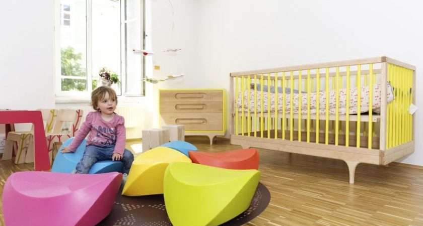 Modern Children Furniture Caravan Crib