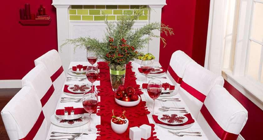 Modern Christmas Cheer Tablescape Above Beyondabove
