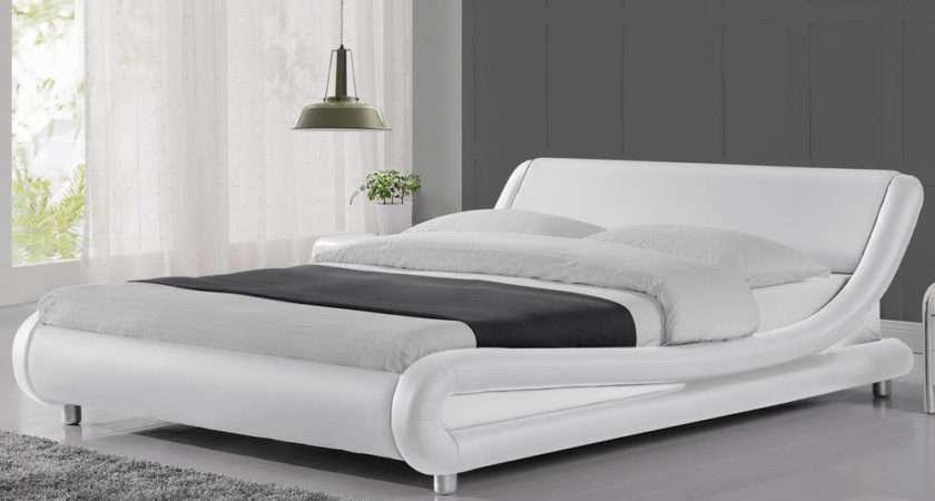 Modern Cool Italian Designer Bed Frame Double King