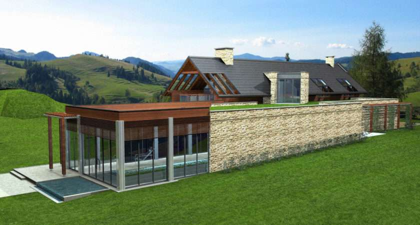 Modern Country House Model Buy