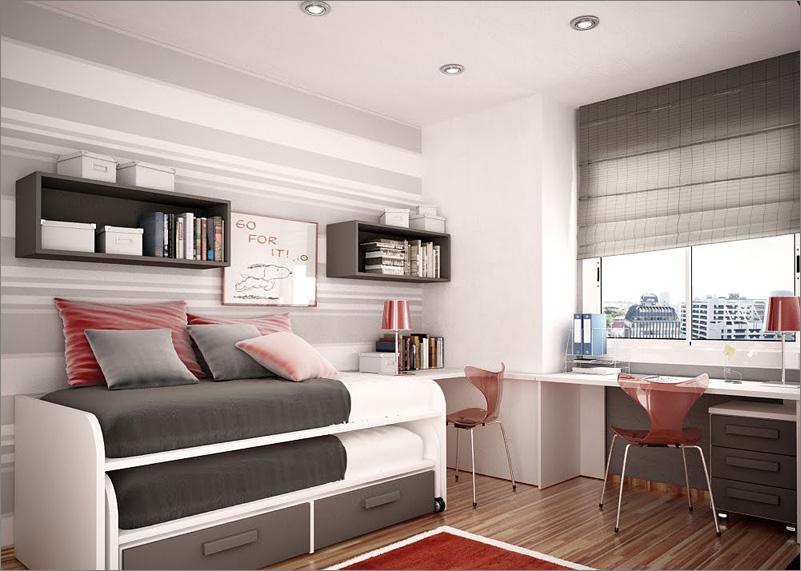 Modern Design Teenage Boys Room Ideas