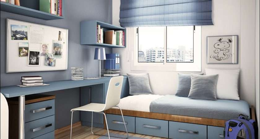 Modern Design Teenage Boys Room Inspirations