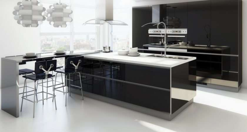 Modern Eat Kitchen Designs