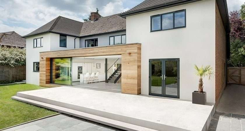 Modern Extension Reshaping Confusing Home Layout Winchester