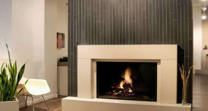 Modern Fireplaces Gas Bamboo Design