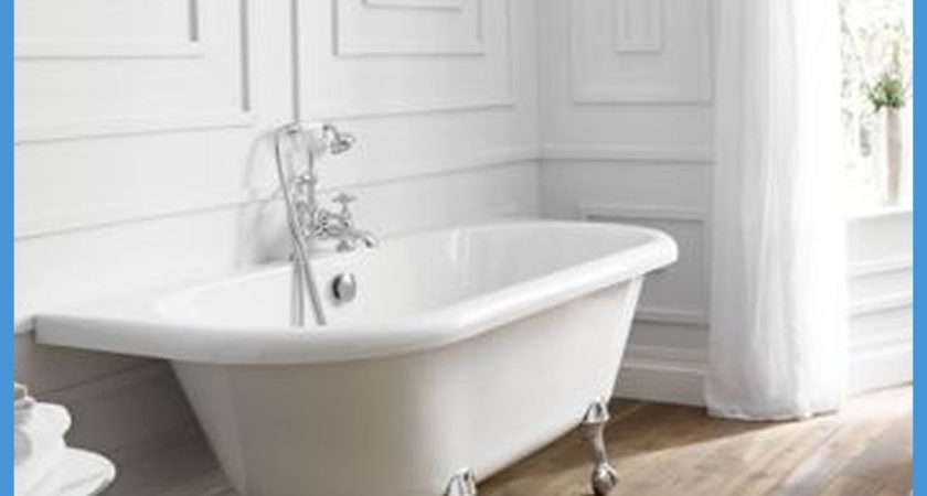 Modern Freestanding Roll Top Designer Baths Bathroom