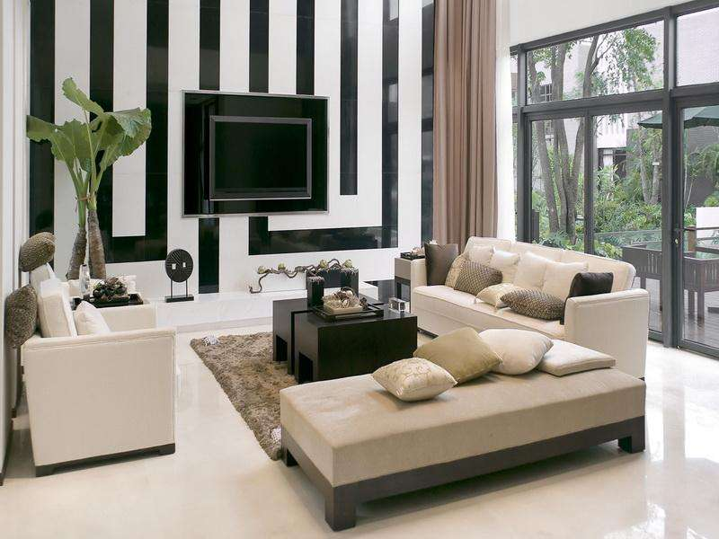 Modern Furniture Small Living Room Interior Design Ideas