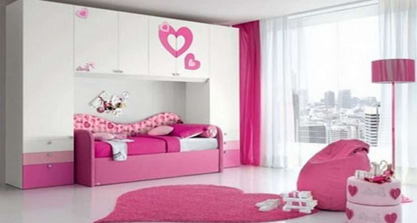 Modern Girls Bedroom Luxury Interior Design Ideas