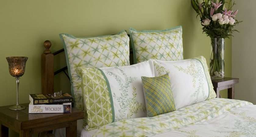 Modern Green Bedroom Feature Wall Inspirations Paint
