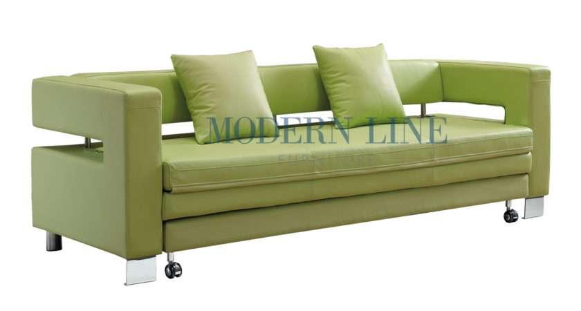 Modern Green Sofa Barrister Retro Mid Century