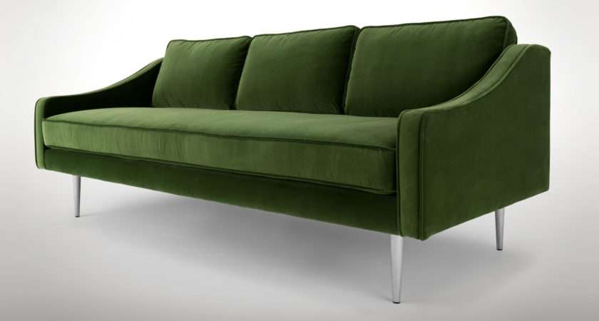 Modern Green Sofa Epic Dark Couch Your Sofas